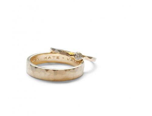 Robuuste ringen – Briljant geslepen diamant
